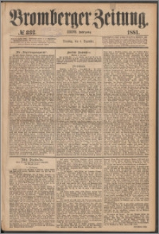 Bromberger Zeitung, 1881, nr 332