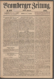 Bromberger Zeitung, 1881, nr 333