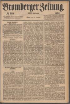 Bromberger Zeitung, 1881, nr 338
