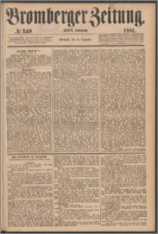 Bromberger Zeitung, 1881, nr 340