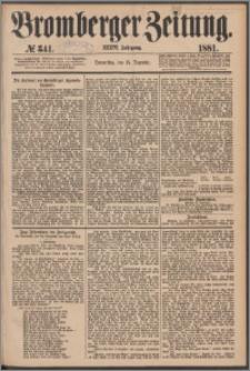 Bromberger Zeitung, 1881, nr 341