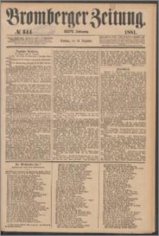 Bromberger Zeitung, 1881, nr 344