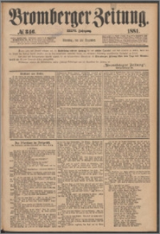 Bromberger Zeitung, 1881, nr 346