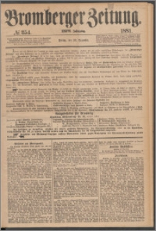 Bromberger Zeitung, 1881, nr 354