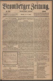 Bromberger Zeitung, 1882, nr 24