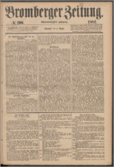 Bromberger Zeitung, 1882, nr 206