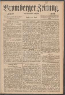 Bromberger Zeitung, 1882, nr 210