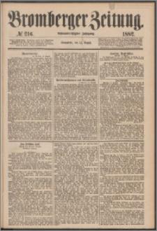 Bromberger Zeitung, 1882, nr 216
