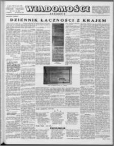 Wiadomości, R. 12 nr 45 (606), 1957