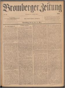 Bromberger Zeitung, 1883, nr 74