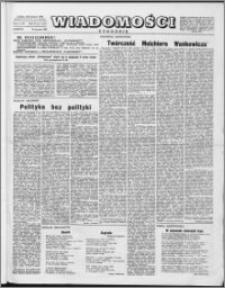 Wiadomości, R. 11 nr 3 (511), 1956