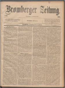 Bromberger Zeitung, 1884, nr 6
