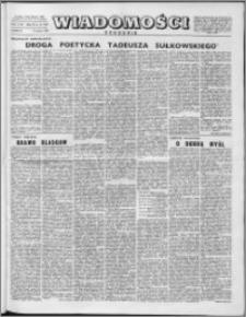 Wiadomości, R. 11 nr 11 (519), 1956