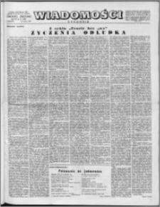 Wiadomości, R. 11 nr 12 (520), 1956