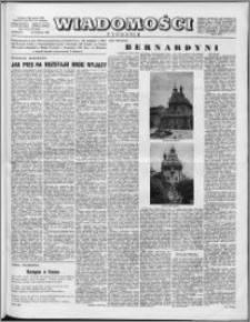 Wiadomości, R. 11 nr 16 (524), 1956