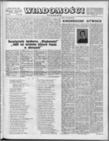Wiadomości, R. 11 nr 20 (528), 1956