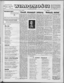 Wiadomości, R. 11 nr 21 (529), 1956