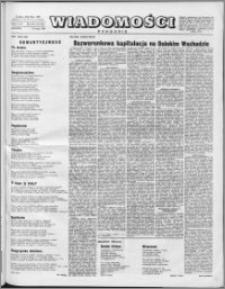 Wiadomości, R. 11 nr 22 (530), 1956