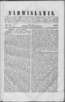 Nadwiślanin, 1860.03.13 R. 11 nr 21