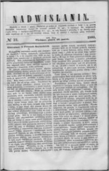 Nadwiślanin, 1860.03.16 R. 11 nr 22