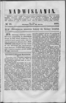 Nadwiślanin, 1860.03.30 R. 11 nr 26