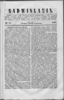 Nadwiślanin, 1860.04.03 R. 11 nr 27