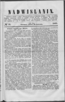 Nadwiślanin, 1860.04.20 R. 11 nr 31
