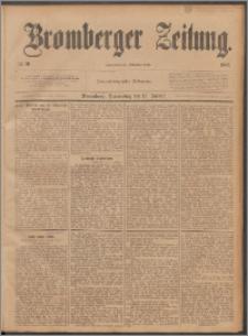 Bromberger Zeitung, 1887, nr 10