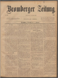 Bromberger Zeitung, 1887, nr 27