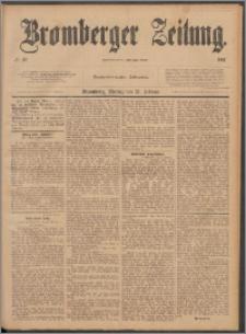 Bromberger Zeitung, 1887, nr 43