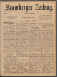 Bromberger Zeitung, 1887, nr 63