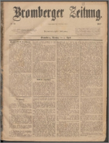 Bromberger Zeitung, 1887, nr 79
