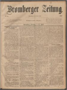 Bromberger Zeitung, 1887, nr 84