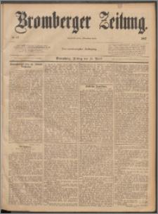 Bromberger Zeitung, 1887, nr 87