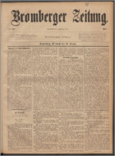Bromberger Zeitung, 1887, nr 184