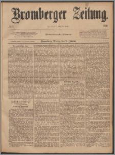 Bromberger Zeitung, 1888, nr 7