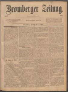 Bromberger Zeitung, 1888, nr 87