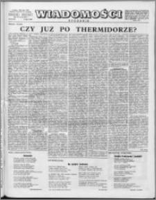 Wiadomości, R. 11 nr 29 (537), 1956