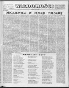 Wiadomości, R. 11 nr 34 (542), 1956