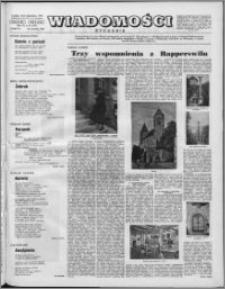 Wiadomości, R. 11 nr 39 (547), 1956