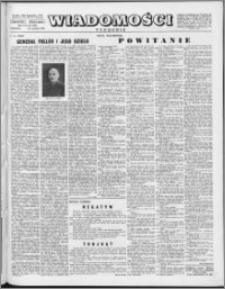 Wiadomości, R. 11 nr 40 (548), 1956