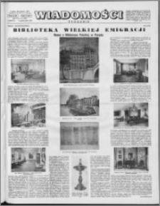 Wiadomości, R. 11 nr 41 (549), 1956