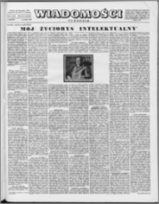 Wiadomości, R. 11 nr 49 (557), 1956