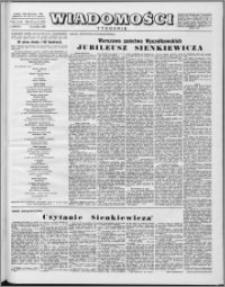 Wiadomości, R. 11 nr 51 (559), 1956