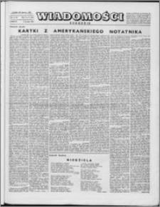 Wiadomości, R. 10 nr 2 (458), 1955