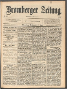Bromberger Zeitung, 1890, nr 71