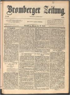 Bromberger Zeitung, 1890, nr 86
