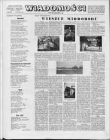 Wiadomości, R. 10 nr 4 (460), 1955