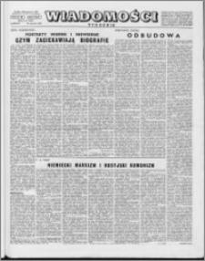 Wiadomości, R. 10 nr 5 (461), 1955