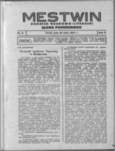 Mestwin, R. 3 nr 8, (1927)